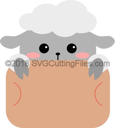 Sheep Gift Card Peeker