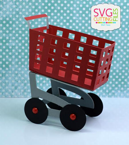 Shopping Cart Treat Box