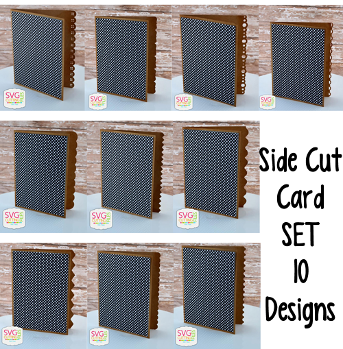 Side Cut Card SET