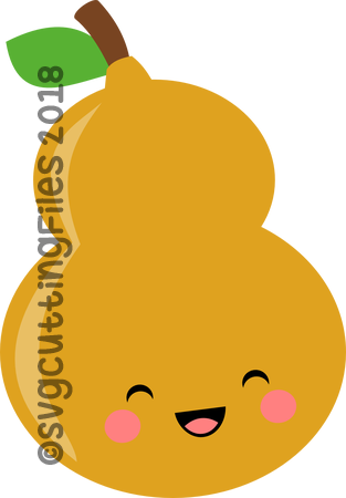 Simple Kawaii Gourd