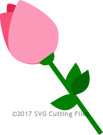 Simple Rose Bud