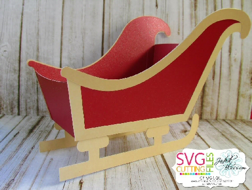 Sleigh Treat Box