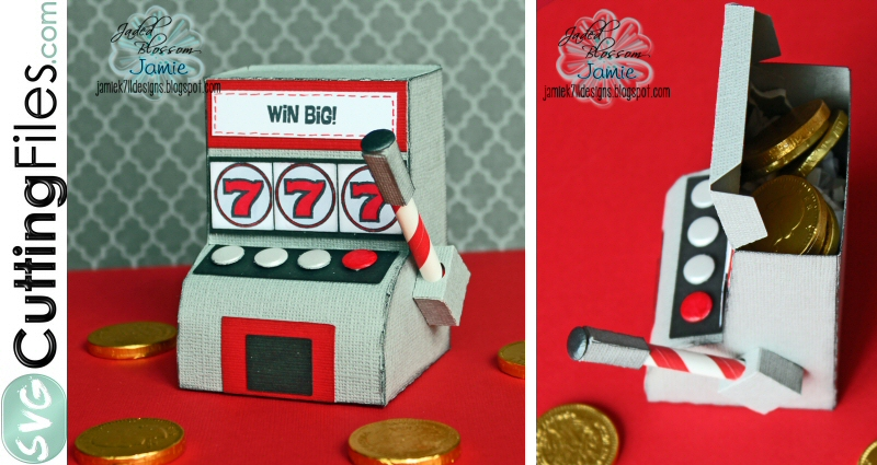 3d Slot Machine box