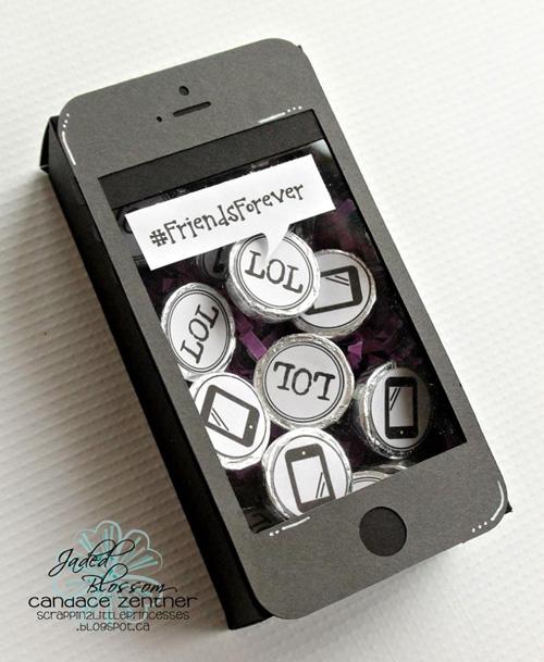Smart Phone Treat Box