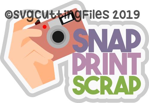 Snap Print Scrap