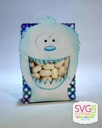 Snow Monster Mint Holder
