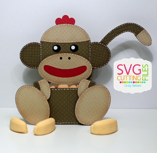 Sock Monkey Box