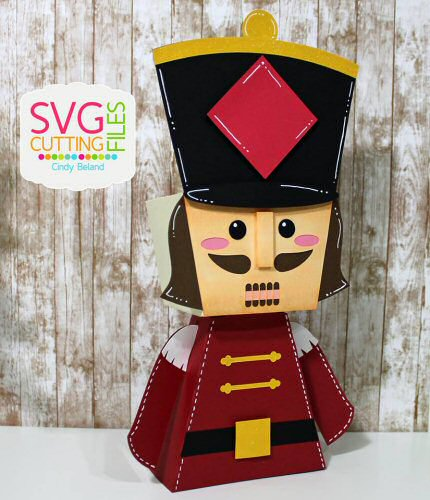 Standing Nutcracker Box