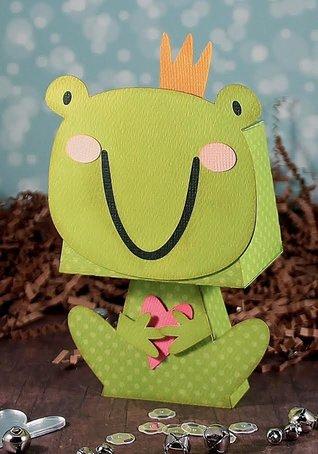 Froggie Heart Standing Box