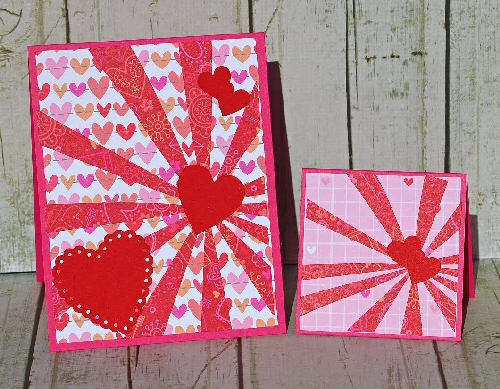 Starburst Heart Card Kit
