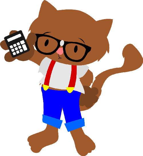 Steve the Nerdy Cat