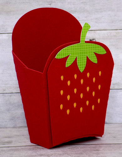 Strawberry Fry Box