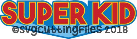 Super Kid Title