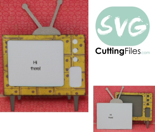TV / Television Slider Card