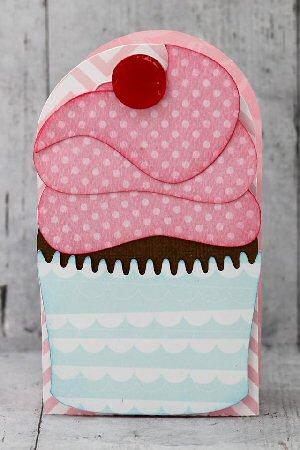 Cupcake Tall Box