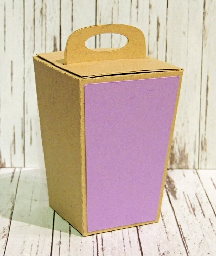 Tall Trapezoid Lock Box