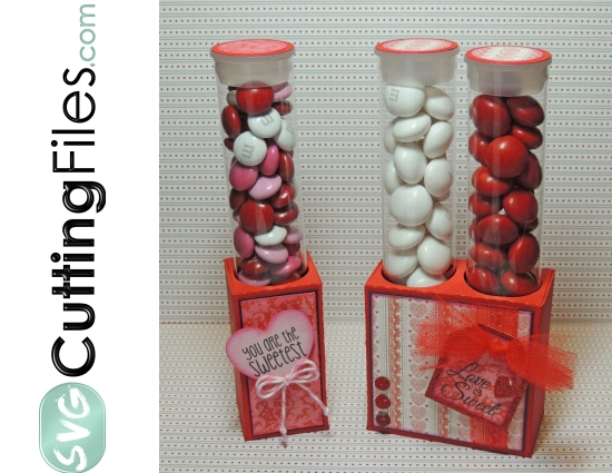 Candy Tube Holder Pack