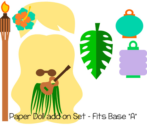 Paper Dolls Tiki Add On