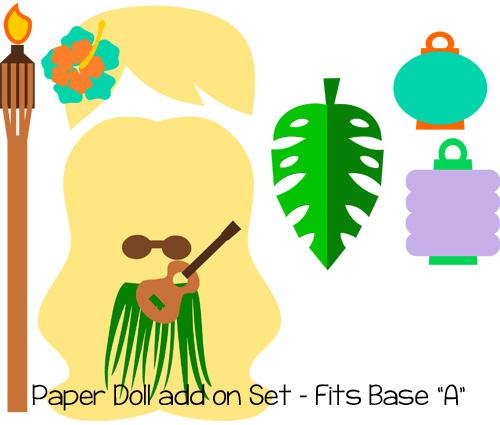 Paper Dolls Tiki Add On