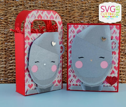 Tin Man Bag & Card Set