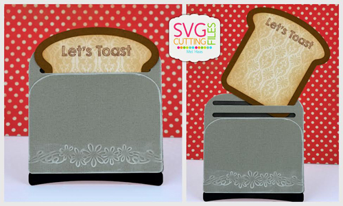 Toaster Slider Card with Toast