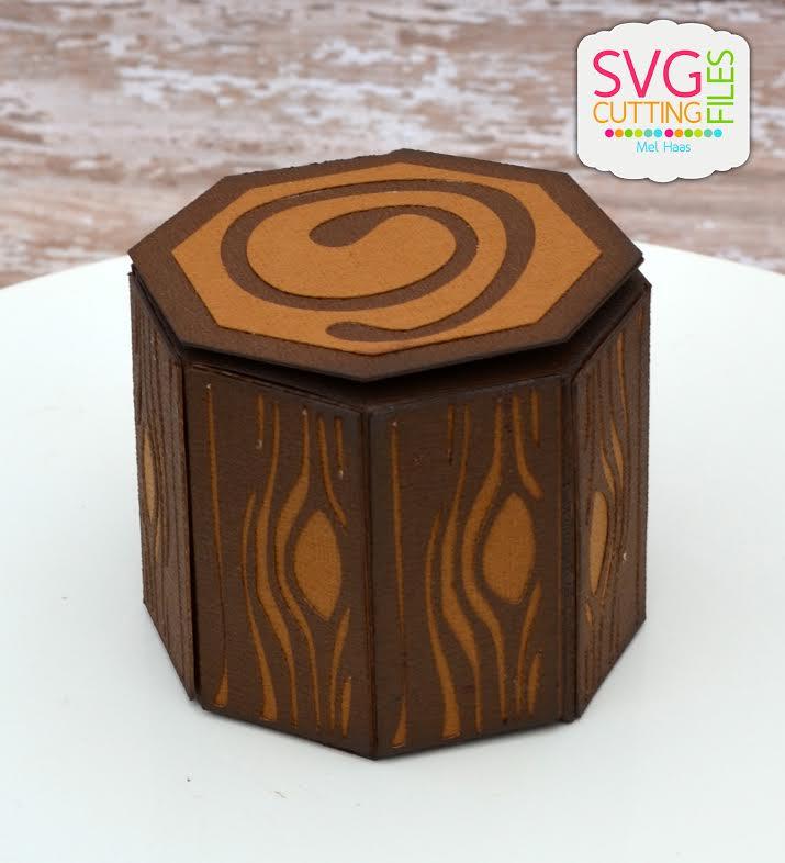Tree Stump Box