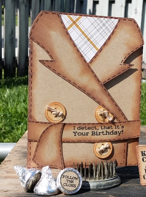 Trench Coat Card