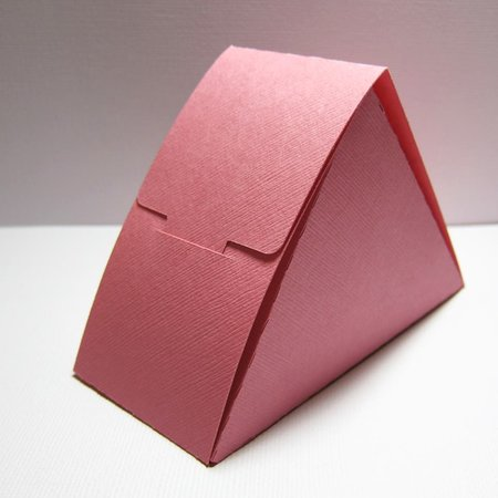 Triangle No Glue Box