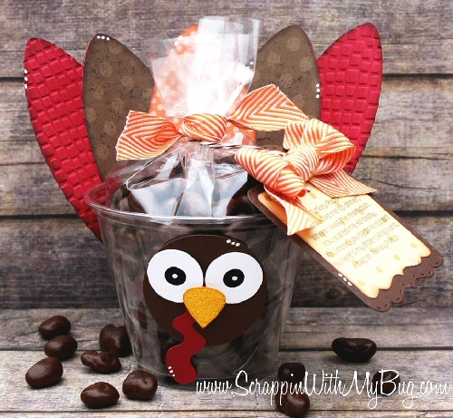 Turkey Cup Treat Craft for Kids