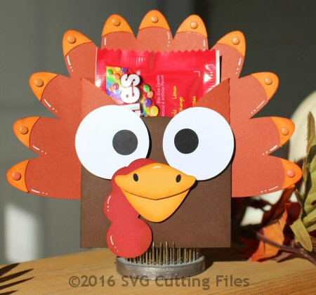 Turkey Fun Size Pocket Holder