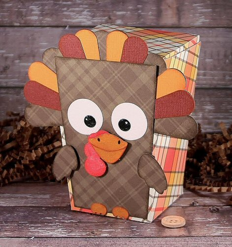 Turkey Reverse Trapezoid Box