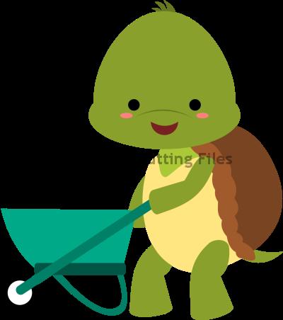 Turtle Wheelbarrow