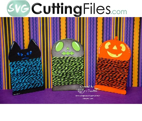 Twine Wraps -Halloween