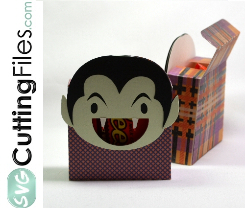 Vampire Head Treat Box