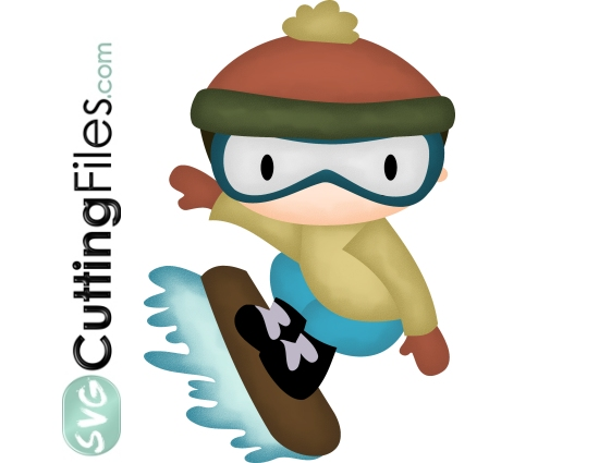 Winter Kids 2 - Snowboarder