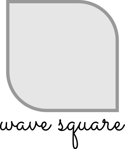 Wave Square Card