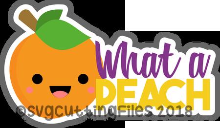 What a Peach