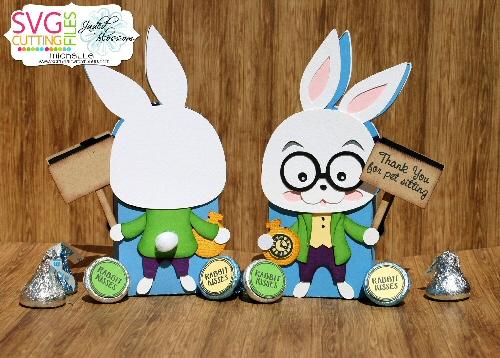 White Rabbit Treat Box