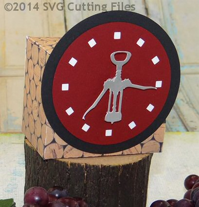 Wine Clock Box