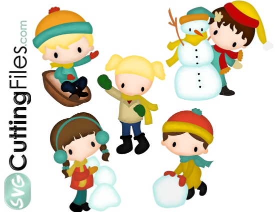 Winter Kids Set