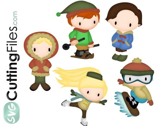 Winter Kids 2 Set
