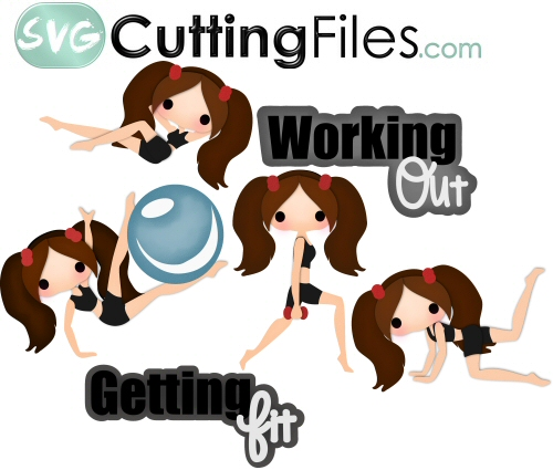 Getting Fit, I Work Out