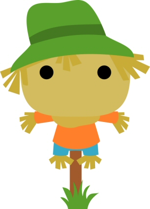 CHibi Scarecrow on Post