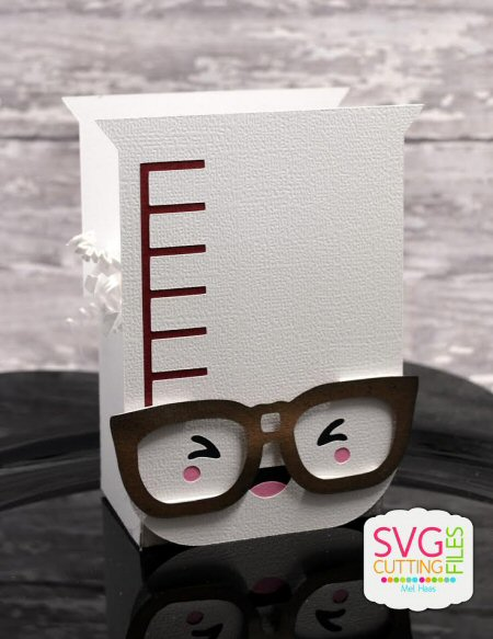 Kawaii Nerdy Beaker Box