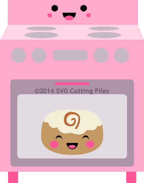 Kawaii Bun in Oven