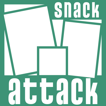 Page Sketch 16 - Snack Attack Overlay