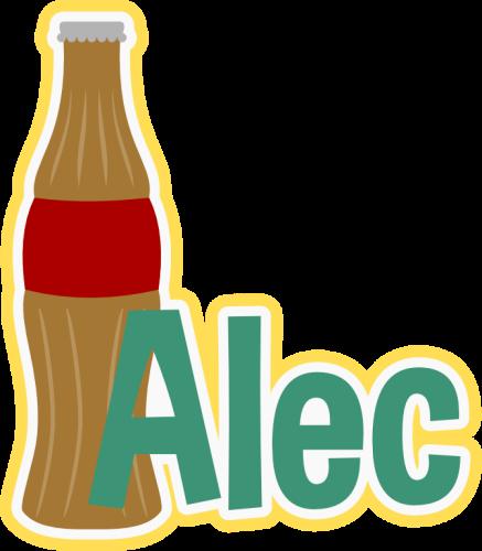 Personalized Soda Bottle
