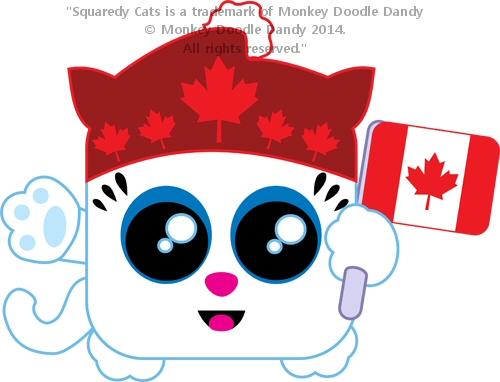 Canada Squaredy Cat