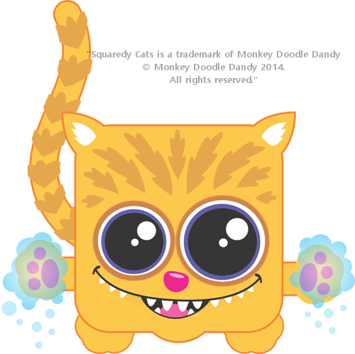 Chesire Squaredy Cat
