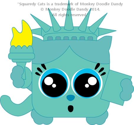Liberty / New York Squaredy Cat